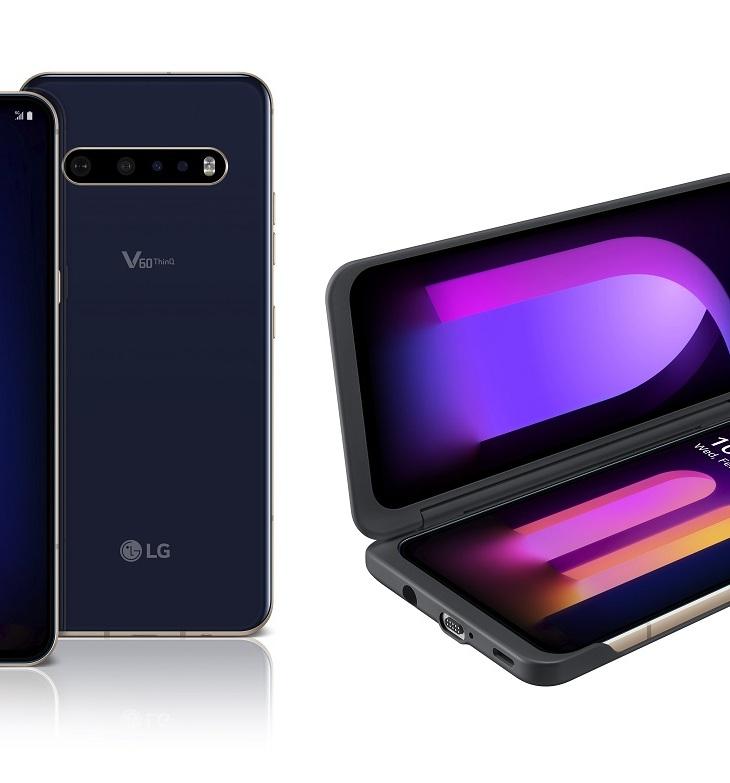 LG v60 thinq smartphone